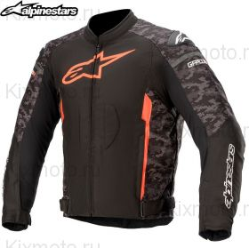 Мотокуртка Alpinestars T-GP Plus V3, Черно-камуфляжная