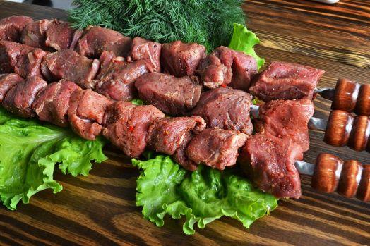 Шашлык из мякоти баранины (цена за 1 кг)