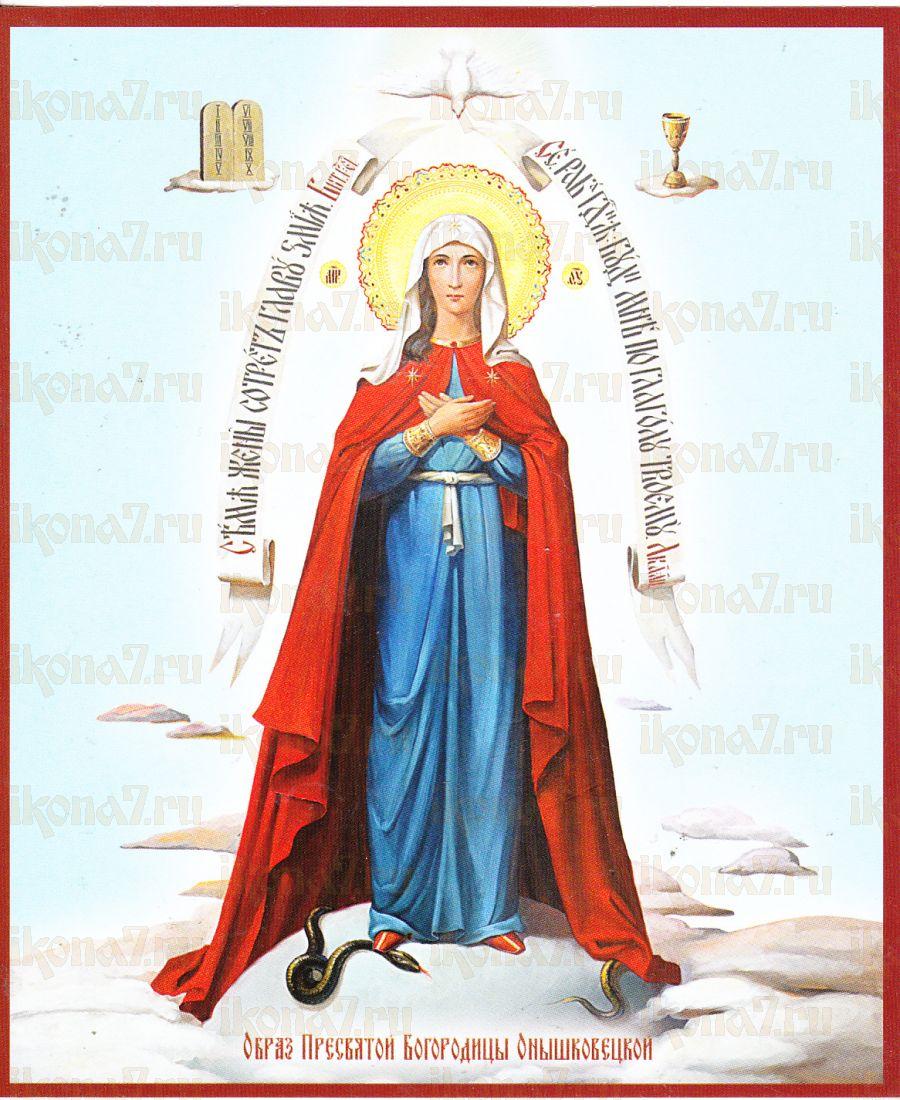 Икона Пресвятой Богородицы Онышковская