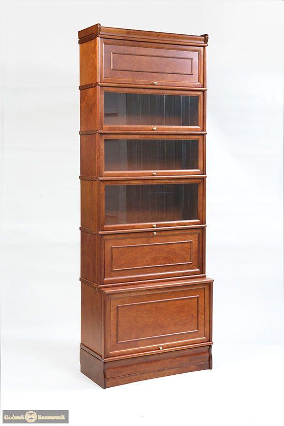 Стойка К172 модульно-секционного книжного шкафа серии Кенигсберг-Люкс с мини-баром