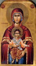 Икона Пресвятой Богородицы Освободительница (Элефтеротриа)