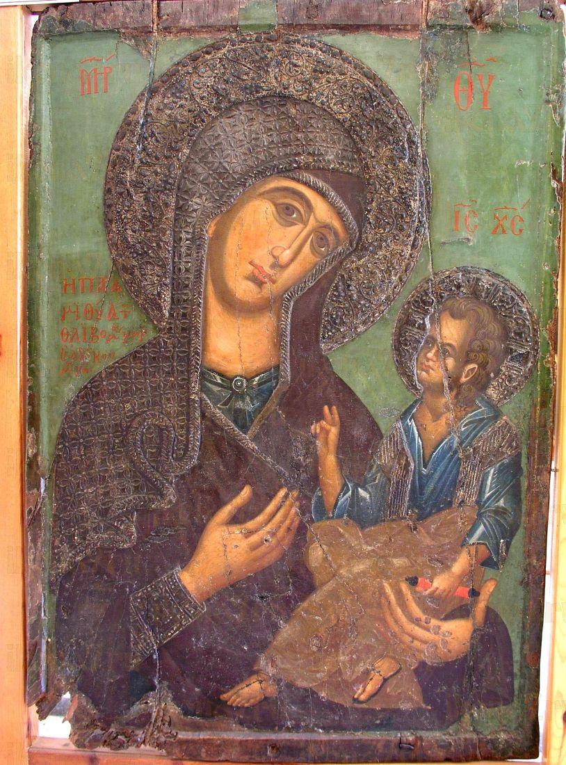 Икона Пресвятой Богородицы Парамития