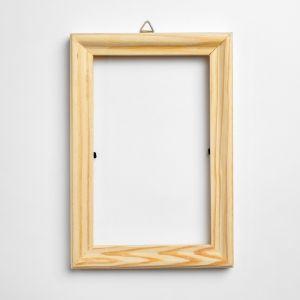 Фоторамка для декорирования, деревянная, для фото: 8?13.5 см