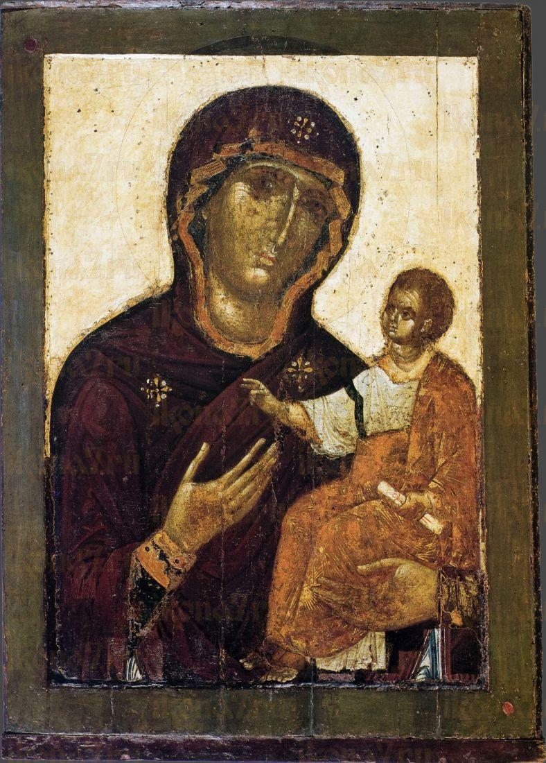 Икона Пресвятой Богородицы Перивлепта