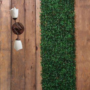 Декоративная панель, 40 ? 60 см, «Самшит», тёмно-зелёный