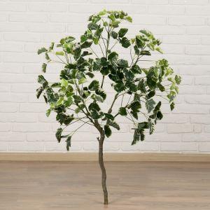 """Дерево искусственное """"Листья с белыми прожилками"""" 110 см   4444938"""