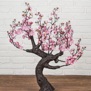 """Дерево искусственное """"Сакура в цвету"""" 85 см, розовый   4444921 (без горшка)"""