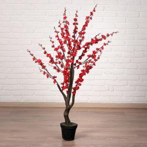 """Дерево искусственное """"Сакура"""" 110 см, красный   4444923"""