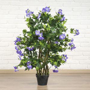 """Дерево искусственное """"Ипомея с голубыми цветами"""""""