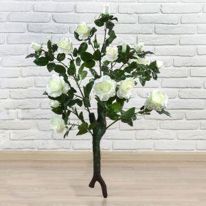 """Куст искусственный """"Розы волнистые"""" 95 см, микс 2555236"""