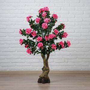 """Куст искусственный """"Цветы шиповника"""" 120 см, микс 2555239"""