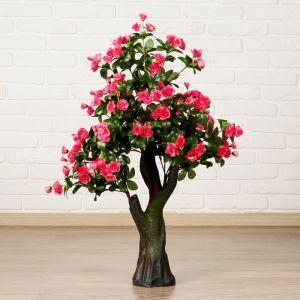 """Куст искусственный """"Цветы"""" 90 см МИКС 2337957"""