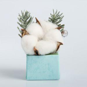 Новогодняя композиция «Мини букет», природный декор