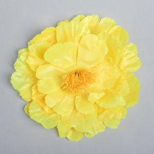 Цветы искусственные для декора, цвет желтый