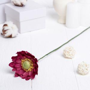 """Искусственный цветок """"Гербера"""" ярко-розовый 45 см 3257417"""