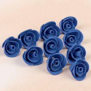 Набор цветов для декора из фоамирана, D=2 см, 10 шт, фиолетовый 2976267