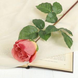 """Цветок искусственный """"Роза Мюнх"""" 9*7*60 см, оранжевая 2248850"""