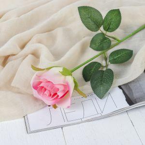 """Цветы искусственные """"Роза Аква"""" 5*40 см, розовый   3794239"""