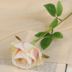 """Цветы искусственные """"Роза бланка"""" 7,5*55 см, розовая   3933363"""