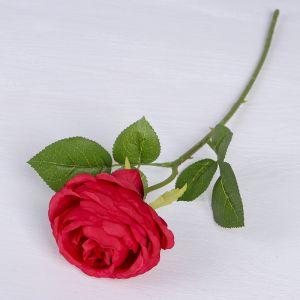 """Цветы искусственные """"Роза Пьяно"""" 8*45 см, красный   3794255"""