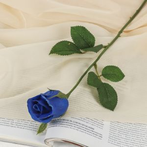 """Цветы искусственные LIVE """"Синяя роза"""" 6*38 см   3556640"""