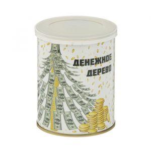 """Растущая травка в банке """"Денежное дерево"""" (сосна, набор для выращивания) 2099119"""