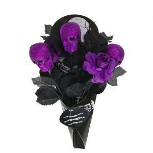 """Букет """"Скелет"""", цвет фиолетовый 1052726"""