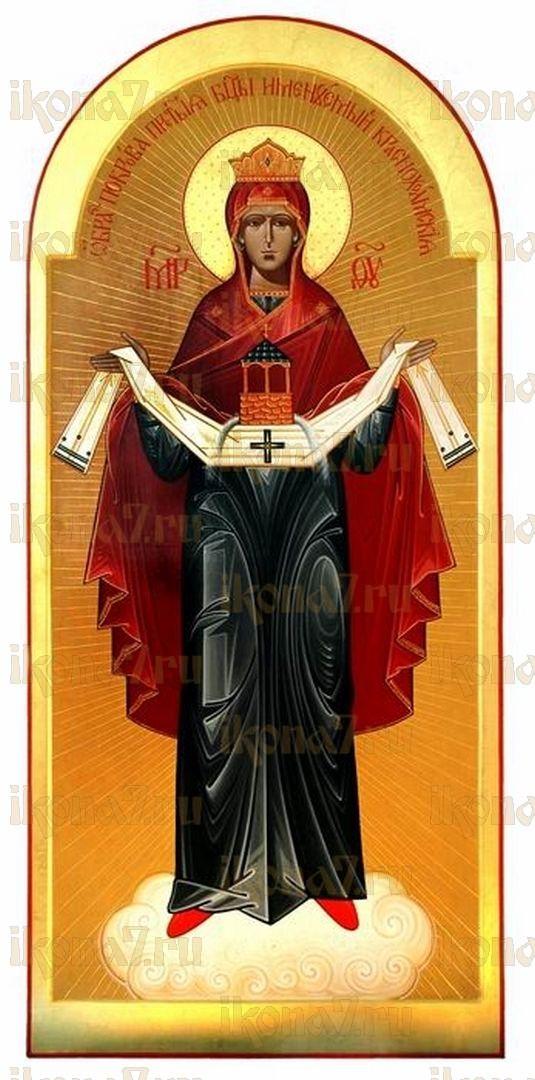 Икона Покров Пресвятой Богородицы Краснохолмская