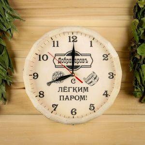 """Часы банные бочонок """"Добропаровъ"""","""" С легким паром """" 3528854"""