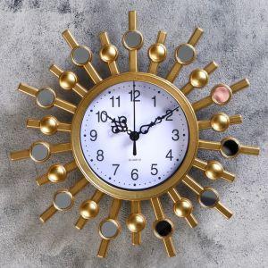 """Часы настенные, серия: Интерьер, """"Авранш"""", 25х25 см, микс   4457334"""
