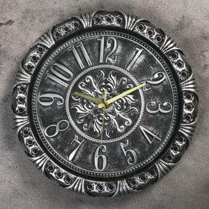 """Часы настенные, серия: Интерьер, """"Азарина"""", 30х30 см , микс 2586590"""