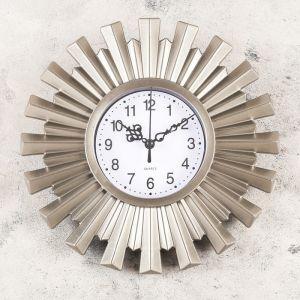 "Часы настенные, серия: Интерьер, ""Амершвир"", 25х25 см, микс   4457338"