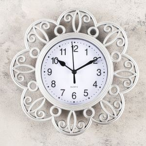 "Часы настенные, серия: Интерьер, ""Арзон"", 25х25 см, микс   4457342"