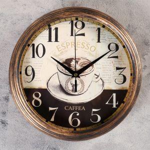 """Часы настенные, серия: Интерьер, """"Вентоса"""", d=25 см   4415648"""