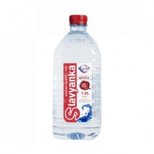 Slavyanka qazsız su 1 lt plastik