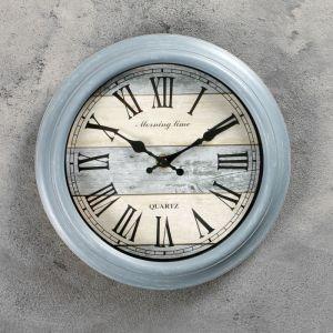 """Часы настенные, серия: Интерьер, """"Реска"""", круглые, римские цифры, d=24 см 3014875"""