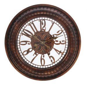 """Часы настенные, серия: Интерьер, """"Соната"""", бронзовые, d=49 см 1588324"""