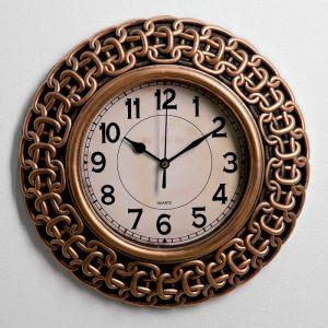 "Часы настенные, серия: Интерьер, ""Цепи"", 30х30 см 3565203"