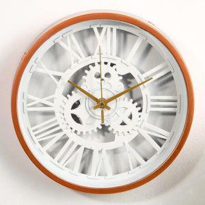 """Часы настенные, серия: Интерьер, """"Шестеренки"""", d=25 см 3620789"""