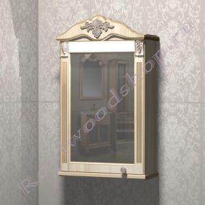 "Зеркало-шкаф ""Глазго Эндрю-55 береза"""