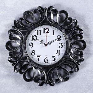 """Часы настенные, серия: Классика, """"Вермонт"""", черное серебро, 45.5 см 4551253"""