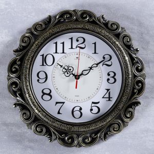 """Часы настенные, серия: Классика, """"Витсанд"""", черное золото 40.5 см   4551248"""