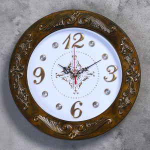 """Часы настенные, серия: Классика, """"Зита"""", d=29.5 см 2998044"""