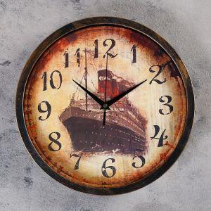 """Часы настенные, серия: Море, """"Непотопляемый"""", d=30 см   4460503"""