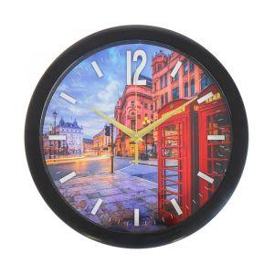 """Часы настенные, серия: Город, """"Вечерний Лондон"""", 28х28 см 2436425"""