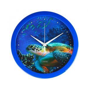"""Часы настенные, серия: Животные, """"Черепаха"""", 28х28 см 2436865"""