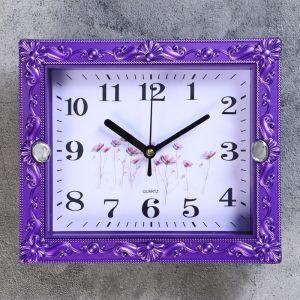 """Часы настенные, серия: Классика, """"Брилл"""", 21х18 см, дискретный ход, 4233588"""
