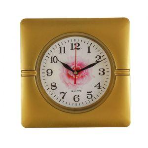 """Часы настенные, серия: Классика, """"Пелагея"""", 19х19 см, цвета и фрукты микс 3620978"""