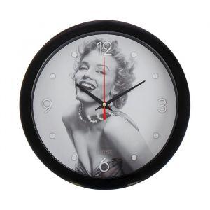 """Часы настенные, серия: Люди, """"Мерлин Монро"""", 28х28 см 2436422"""