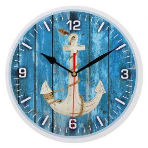 """Часы настенные, серия: Море, """"Якорь"""", 24 см 3571391"""